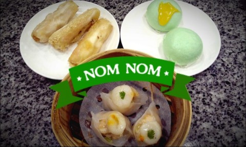 A variety of dim sum to choose, from steamed to fried!
