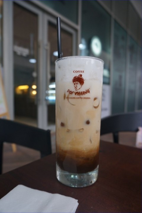 Refreshing ice coffee on a hot day !!